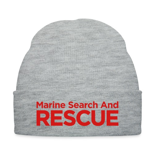 Marine Search and Rescue - Knit Cap with Cuff Print