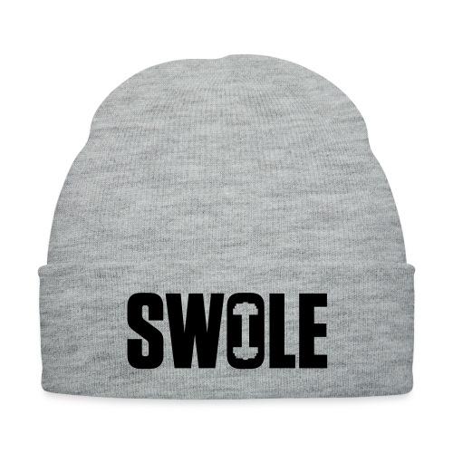 SWOLE - Knit Cap with Cuff Print
