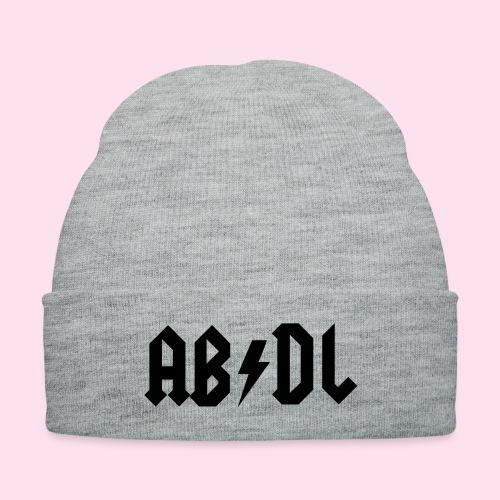 ABDL Rock - Knit Cap with Cuff Print