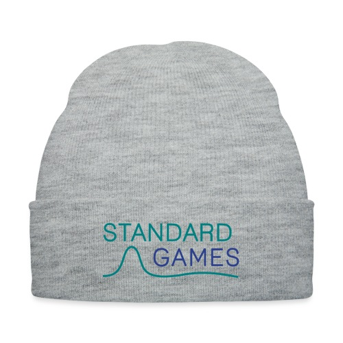 standardgames-logo-hat - Knit Cap with Cuff Print