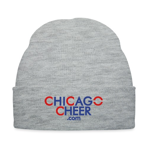 CHICAGO CHEER . COM - Knit Cap with Cuff Print