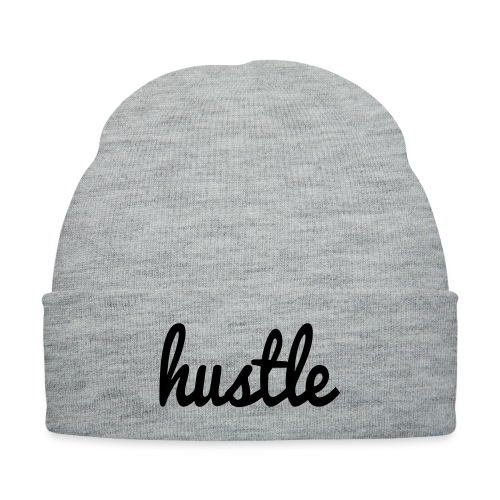 hustle vector - Knit Cap with Cuff Print