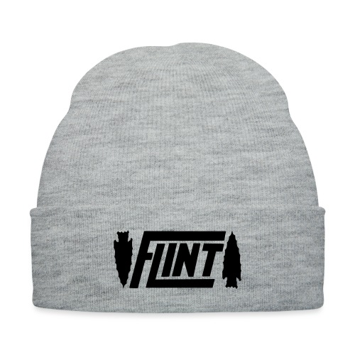 Flint Arrowhead - Knit Cap with Cuff Print