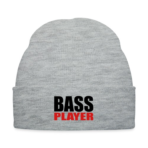 Bass Player - Knit Cap with Cuff Print