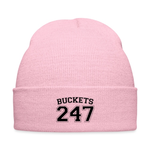 Buckets basketball 247 - Knit Cap with Cuff Print