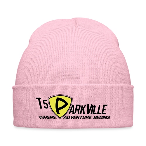 T5 Parkville - Knit Cap with Cuff Print
