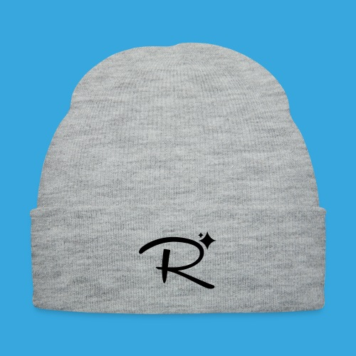 Randomland Hat - Knit Cap with Cuff Print