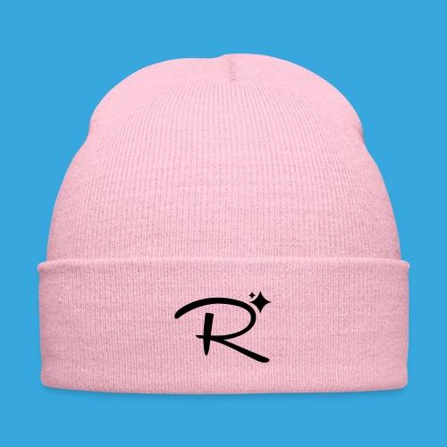 Randomland Hat - Knit Cap with Cuff Print