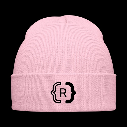 square black reswitched R logo bmx3r - Knit Cap with Cuff Print