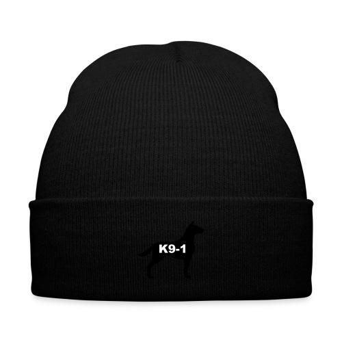 k9-1 Logo Large - Knit Cap with Cuff Print