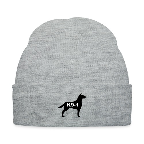k9-1 Logo Large - Knit Cap with Cuff Print