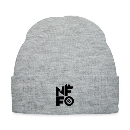 NFFO - Knit Cap with Cuff Print