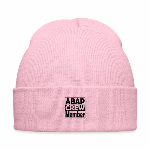 ABAPcrew - Knit Cap with Cuff Print