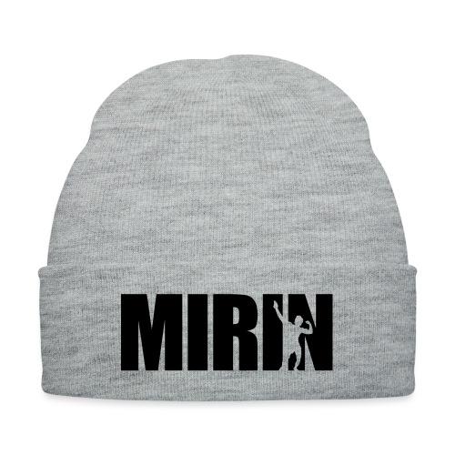 Zyzz Mirin Pose text - Knit Cap with Cuff Print