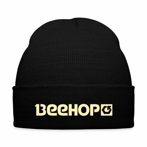 beehop - Knit Cap with Cuff Print