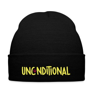Unconditional signature - Knit Cap with Cuff Print