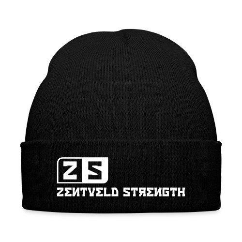 ZENTVELD STRENGTH - Knit Cap with Cuff Print