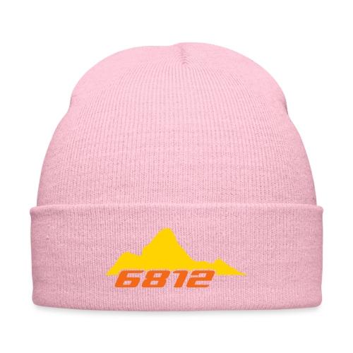 AmaDablam Atom - Knit Cap with Cuff Print