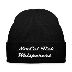 Text Only - Knit Cap with Cuff Print