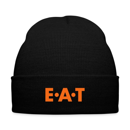 EAT_LOGO_SMALL - Knit Cap with Cuff Print