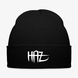 H.A.Z - Knit Cap with Cuff Print