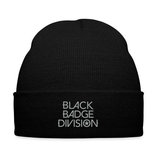 Black Badge Division Caps, Hats and Bandanas - Knit Cap with Cuff Print