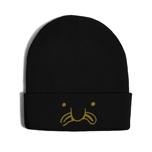 Moi Boiz Logo (2) - Knit Cap with Cuff Print