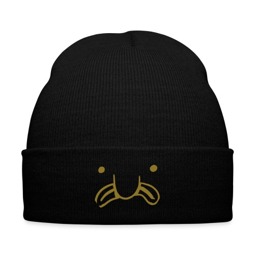 Moi Boiz Logo (2) - Knit Cap with Cuff Print