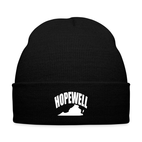 HOPEWELL - Knit Cap with Cuff Print