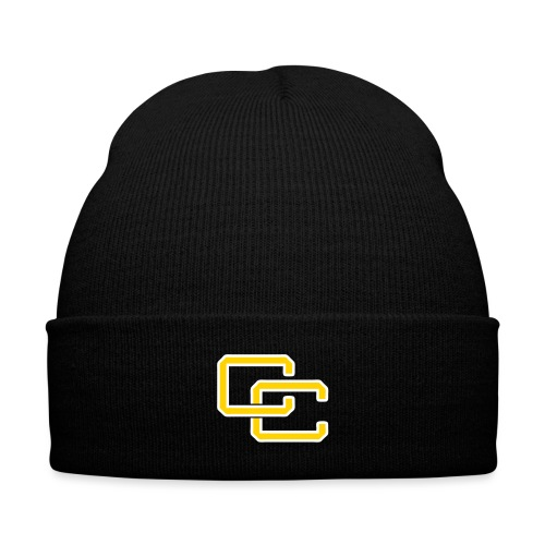 cc hat - Knit Cap with Cuff Print