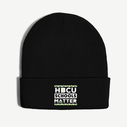 HBCU Schools Matter - Knit Cap with Cuff Print