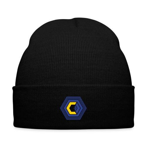 The Corporation - Knit Cap with Cuff Print