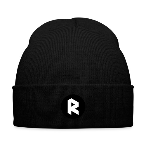 New R Logo - Knit Cap with Cuff Print