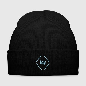 Icy - Knit Cap with Cuff Print