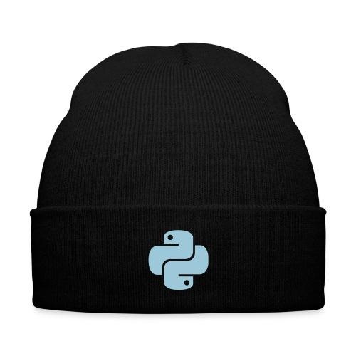 Python Logo - Knit Cap with Cuff Print