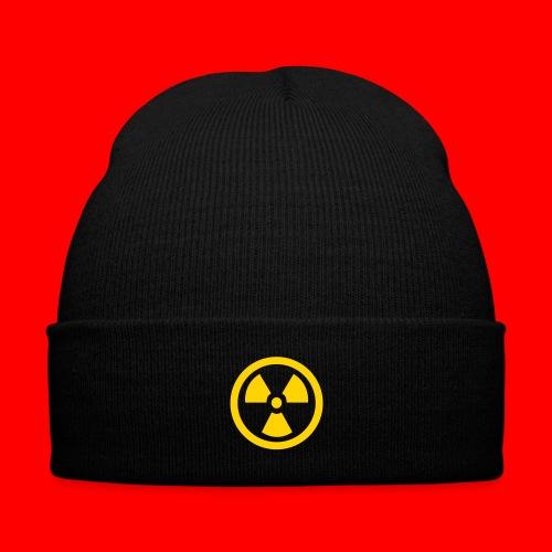 Radiation Symbol - Knit Cap with Cuff Print