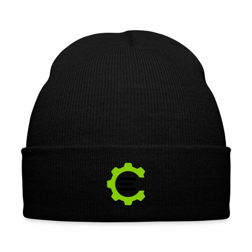 Giant Logo - Knit Cap with Cuff Print