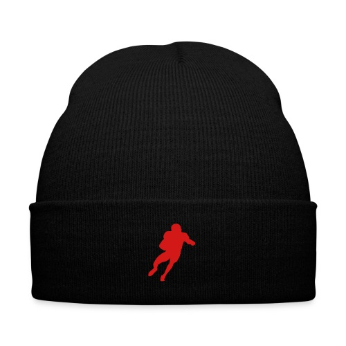 football hat - Knit Cap with Cuff Print