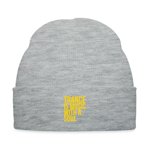 Trance soul - Knit Cap with Cuff Print