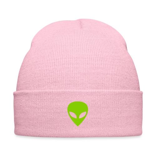 Alien - Knit Cap with Cuff Print