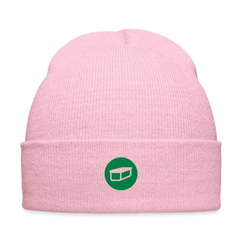 Geocache - Knit Cap with Cuff Print