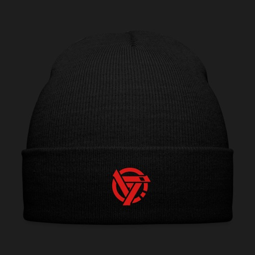 revictus print vector - Knit Cap with Cuff Print