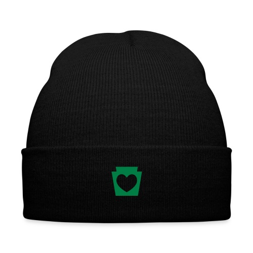 Love/Heart PA Keystone - Knit Cap with Cuff Print
