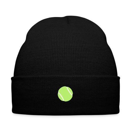 tennis ball - Knit Cap with Cuff Print