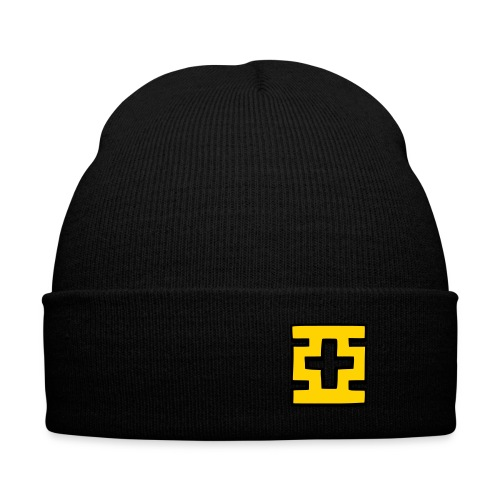 亞 - Knit Cap with Cuff Print