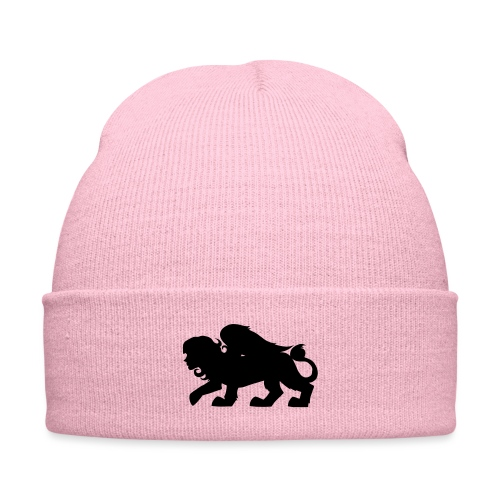Sphynx Silhouette - Knit Cap with Cuff Print