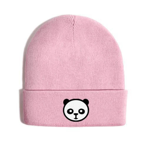 Panda bear, Big panda, Giant panda, Bamboo bear - Knit Cap with Cuff Print