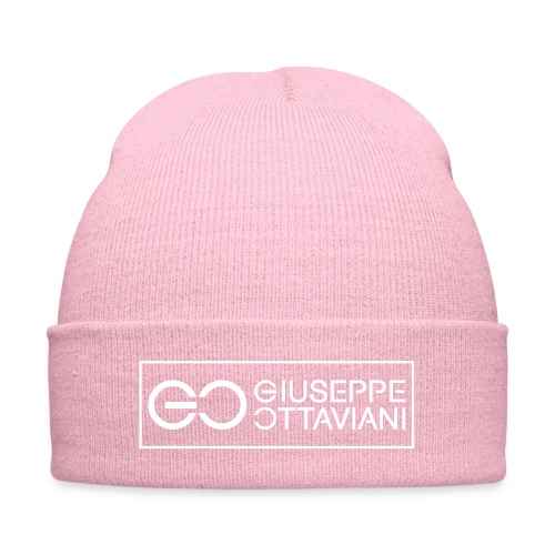 GO logo small - Knit Cap with Cuff Print