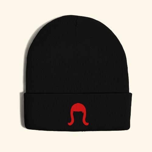 Miss Coco Peru Wig Logo - Knit Cap with Cuff Print