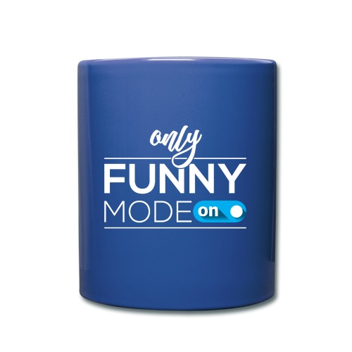 Funny time on - Full Color Mug